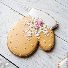 Купить Новогодние пряники рукавичка/сапожок -2 - рукавички, варежки, варежка, рукавичка, сапожок, валенок