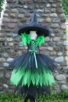 Check out this item in my Etsy shop https://www.etsy.com/listing/478440091/wicked-witch-costume-witch-tutu