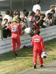 """Em entrevista ao site russo """"F1 News"""", Alain Prost disse ter discordado da forma como o documentário """"Senna"""" foi feito. Ele foi retratado como um vilão com forte influência política."""