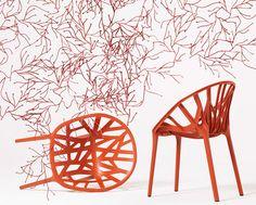 Vegetal Chair - by Ronan & Erwan Bouroullec