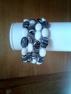 adorngems - Black and White Cuff Bangle, £12.00 (http://www.adorngems.com/black-and-white-cuff-bangle/)