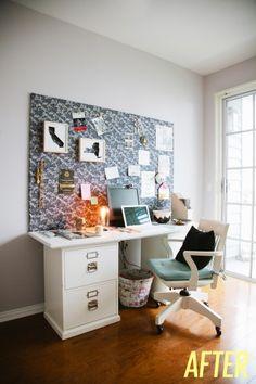 DIY : Un mood board pour accessoiriser son bureau - DecoCrush - Je prends l'idée, je change le motif!