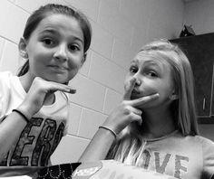 Being rebels at school!!!