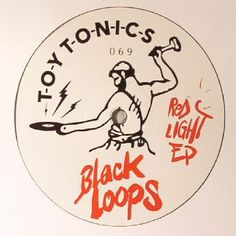 The artwork for the vinyl release of: Black Loops - Red Light EP (Toy Tonics) #music House
