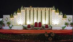 A WEDDING PLANNER: Indian wedding stage decorations and indian wedding mandap decorations