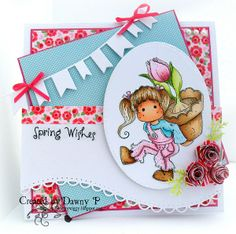 Card made for Simon Says Blog April 2013 by Dawny