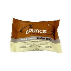 Bounce, Energy Ball, Apple Cinnamon, Pack of 12, Size - 1.48 OZ, Quantity - 1 Case * You can find out more details at the link of the image.