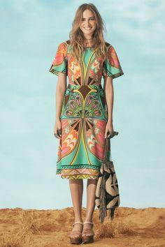 vestido midi baioque max barrado | farm rio dress