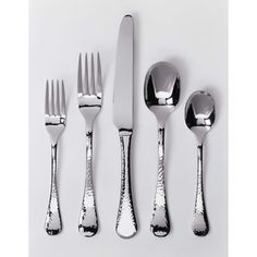 Shop for Ginkgo Lafayette 42-Piece Stainless Steel Flatware Set. Get free delivery at Overstock.com - Your Online Kitchen