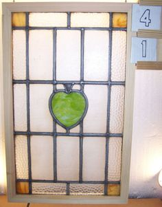 Vintage Leaded English stained window