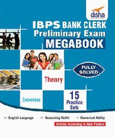 IBPS bank clerk preliminary exam #IBPS #onlinetyari  https://onlinetyari.com/store/ibps-bank-clerk-preliminary-exam-mega-book-by-disha-publication-i2203.html