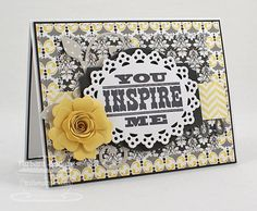 You Inspire Me - MFTWSC #110 by Bar - Cards and Paper Crafts at Splitcoaststampers