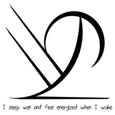 """I sleep well and feel energized when I wake"" sigil requested by anonymous Sigil requests closed until Saturday"