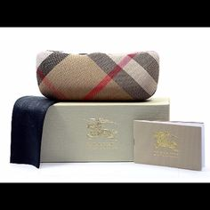 authentic Burberry sunglasses case Only case is available, price is negotiable! Burberry Accessories Glasses