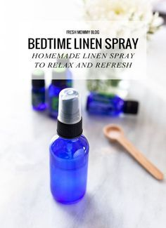 Making your own homemade bedtime linen spray is affordable and easy to do, which is great in itself, but the benefits are what really got me into creating my own spray to relax me (and my little ones!!) while I refresh my linens!   Plus it's just important to know that rest can improve your health and wellbeing. A good night's sleep is the starting point for resisting germs and viruses, easing stress, and losing weight.   Homemade Bedtime Linen Spray - FreshMommyBlog.com