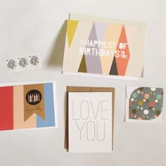 The September card collection by Haven Paperie stationery subscription service #birthday #cards