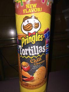 Pringles Tortillas chili cheese