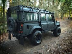 DEFENDER 110 WITH A BEAUTIFUL PROTECTION