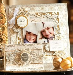 Brighten someone's day with winter wonderland magic. Sure to have everyone smiling these beautiful cards are an easy way to get those you love in the holiday spirit.