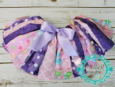 Butterfly Fabric Tutu Cake Smash First by PrettiestPropShop