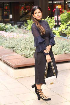 Love Zahra | Fashion. Design. Inspiration. Date night look wearing Olivia Palermo x Chelsea28 via Nordstrom.