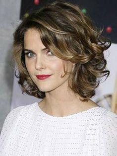 short wavy coarse hairstyles