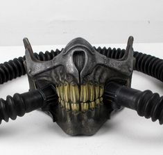 Fan-made Mad Max: Fury Road Immortan Joe Skull Mask Airsoft Mask, Respirator Mask, Mad Max Fury Road, Immortan Joe Mask, Armadura Steampunk, Arte Steampunk, Half Mask, Cool Masks, Vintage Ads