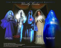Haunted Mansion Brides - 1969 is STILL the scariest!