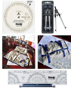 Special ASA/Weems & Plath Nav Kit includes: Nautical Slide Rule, Weems & Plath's most popular Parallel Plotter, Ultralight Dividers/Compass and The Navtote, which is made of rugged tough Duck, a PVC backed polyester duck fabric, for added strength and durability. It features gusseted pockets and strong hanging grommetts. Navtote will keep your navigation tools in good order. ** This item ships separately - UPS Ground only. If your shipping address is outside US/Canada,