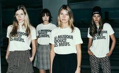 T-shirt femme du monde  http://pickture.com/women/t-shirt-la-musique-adoucit-les-meufs-434464