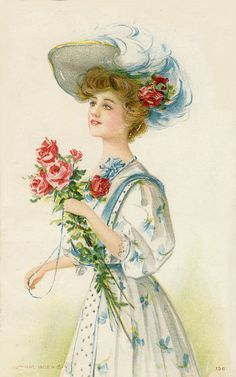 http://silvertabby.hubpages.com/hub/Vintage-Images-from-my-collection-of-Antique-Postcards-Ladies