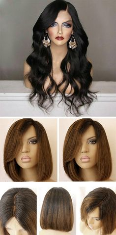 Synthetic Wigs on sale