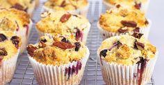 Heidelbeer-Pekanus-Muffins Rezept von KENWOOD   Kenwood Schweiz