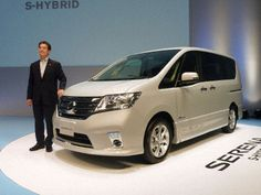 Nissan Serena S-Hybrid minivan