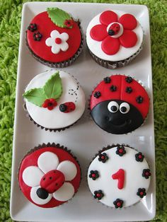 .Spring Cupcakes