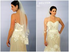 Lea-Ann Belter's Spring 2012 collection  (BACK)  Tried on and loved at Lovely Bridal