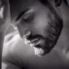 Man with Beard. Beautiful.