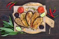 Fűszeres, sült padlizsán: karcsúsító, remek köret villámgyorsan French Toast, Bread, Breakfast, Recipes, Food, Inspiration, Diet, Eggplants, Cooking