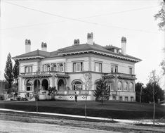 Matthew Walker residence, 1904. This newly completed home at 610 East South Temple was built for one of the Walker brothers who made their fortune as merchants and bankers. The mansion was later home to David Keith, then to several social clubs, including the Aviation Club and the University Club. Today it is used as an office building. (Neg. 1020.)
