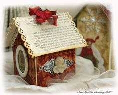 crafts for kids: christmas house, recycling ideas - crafts ideas - crafts for kids