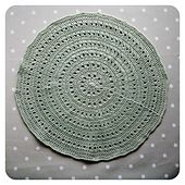 Ravelry: Backing for a Large Round Pillow Cushion pattern by Crochet Tea Party