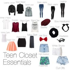 """Teen Essentials"" by braylie-green on Polyvore"