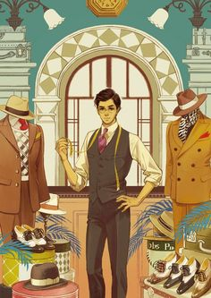 Artwork by Hiromi Matsuo Japanese Illustration, Manga Illustration, Character Illustration, Art Illustrations, Manga Art, Anime Manga, Anime Art, Character Art, Character Design