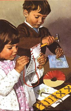 Vintage Ladybird Books 'Learning with Mother' by LarkingAbout, via Flickr