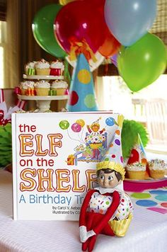 The Elf on the Shelf A Birthday Tradition~ available 10-22-2013