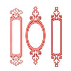 £15.50 Spellbinders Nestabilities fancy framed tags one s4-377 | eBay