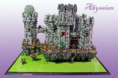 The Brothers Brick Lego Swamp castle