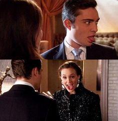 Gossip Girl- Chuck and Blair