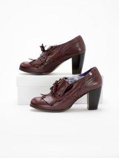 Red or Dead BNWT Womens Mulberry Heeled Shoe Size EU 41 (UK 8) in Kleidung & Accessoires, Damenschuhe, Pumps | eBay