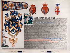 Grant of Arms for William Henry Hugo Newman-Norton (Abba Seraphim El-Suriani,  Metropolitan of Glastonbury and Head of the British Orthodox Church)